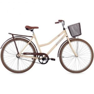 Bicicleta Aro 26 Status Panda Bege/Marrom 76-088.002