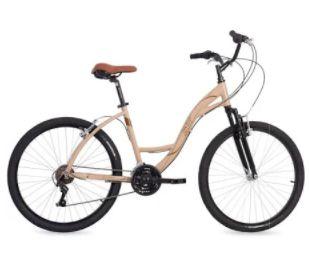 Bicicleta Aro 26 Status Urbana 21V Bege/Marrom 76-058.002