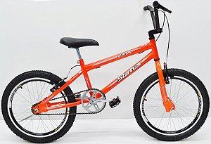 Bicicleta Aro 20 Status Cross Aero Laranja Neon 76-087.006