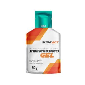 Energetico 30g Energypro Gel Hidroeletrolitico Sudract Limao 3505