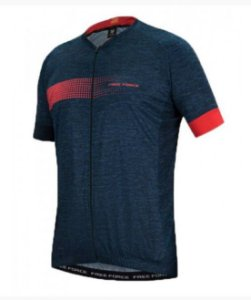 Camisa Free Force Sport Bit Azul Escuro