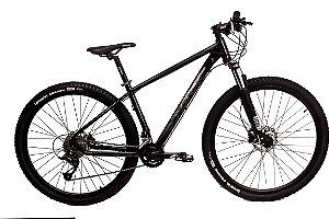 Bicicleta Aro 29 Dvorak 18V Hidraulico Preto/Preto