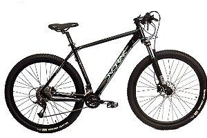 Bicicleta Aro 29 Dvorak 18V Hidraulico Preto/Azul
