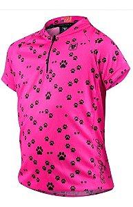Blusa Free Force Infantil Sport Pink