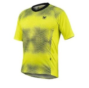 Camisa Free Force Trail Chill Preto/Amarelo