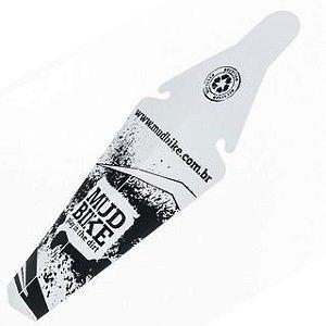 Paralama Traseiro MudBike Preto/Branco
