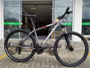 Bicicleta Aro 29 Usada Audax ADX 100 T19 V21 Cinza/Branco Cli: 1531