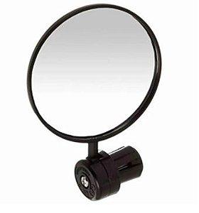 Espelho Angular Com Regulagem (4.5cm Redondo) Preto