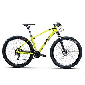 Bicicleta Aro 29 Rava Storm Limited Amarelo/Preto