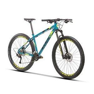 Bicicleta Aro 29 Sense Fun Evo (2021) Aqua/Amarelo