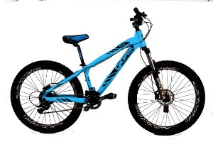 Bicicleta Aro 26 Gios FRX T13.5 8V Azul Bebe/Preto