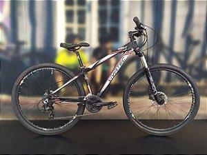 Bicicleta Aro 29 Usada Vivatec T15 V24 Preto/Branco/Vermelho