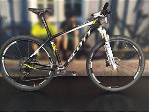 Bicicleta Aro 29 Usada Scott Scale 900 12V T.L Preto/Branco/Amarela Cli 2035