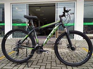 Bicicleta Aro 29 Usada GTA T19 V21 Preto/Verde