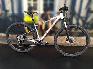 Bicicleta Aro 29 TSW Hurry Especial 12V Cinza/Vermelho