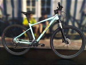 Bicicleta Aro 29 TSW Hurry Pro 22V Verde/Dourado