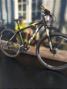 Bicicleta Aro 29 Usada Fuji 20V T19 Preto/Amarelo/Branco Cli.: 4136