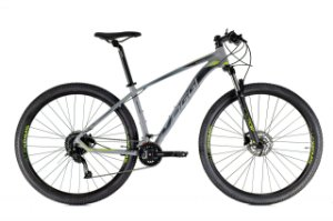 Bicicleta Aro 29 Oggi Big Wheel 7.0 (2021) Grafite/Preto/Verde
