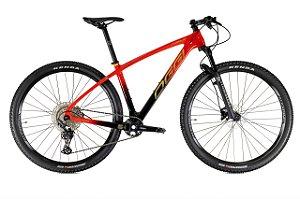 Bicicleta Aro 29 Oggi Agile Sport Deore Carbono (2021) Vermelho/Preto