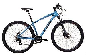 Bicicleta Aro 29 TSW Hunch 24V Azul Metalico