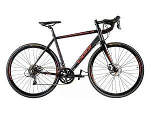 Bicicleta Aro 700 Oggi Speed Velloce Claris (*) 16V Preto/Vermelho