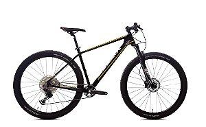 Bicicleta Aro 29 Audax AUGE LT 02 (2021) Preto/Amarelo/Branco