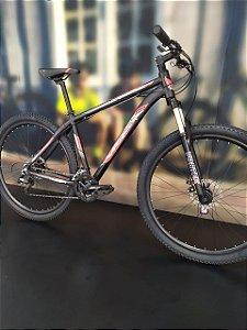 Bicicleta Aro 29 GT Super (2020) Preto/Vermelho/Branco