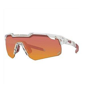 Oculos HB Shield Evo M Clear Multi Red