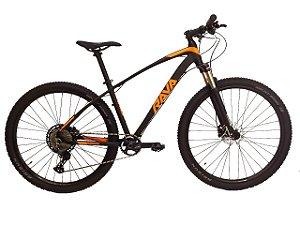 Bicicleta Rava Storm 12V Preto e Laranja
