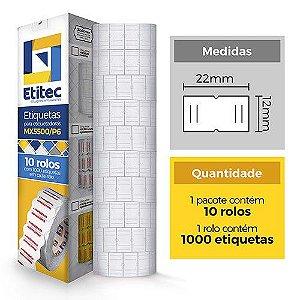 Etiqueta MX5500 Neutra - Etitec
