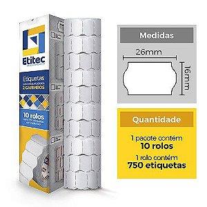 Etiqueta Open S16/MX2316 Neutra - Etitec