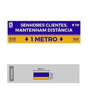 Kit de Etiquetas para Organizar Filas - 1 Metro - Etitec