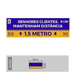 Kit de Etiquetas para Organizar Filas - 1,5 Metro - Etitec