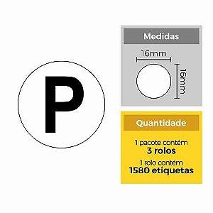 Etiqueta P - Etitec