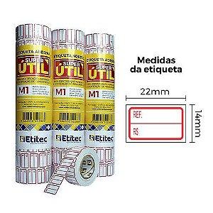 Etiqueta Super Útil M1 - Etitec
