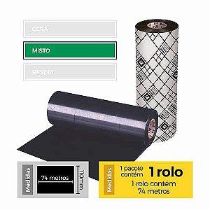 Fita para Impressão (Ribbon) Misto Premium 110x74 - Etitec