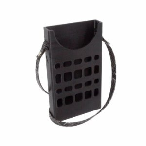 Porta Celular  Preto Vazado Decote Frontal