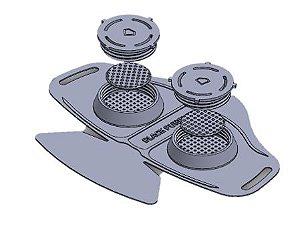 Tampas Extra para máscara 3D - Um par de tampas
