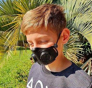 Máscara 4D - Modelo kids (de 3 a 8 anos)