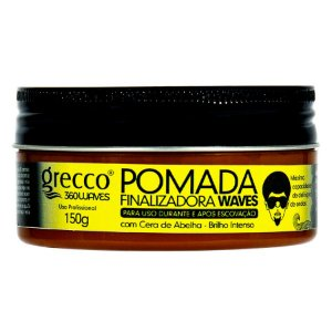 Pomada Finalizadora Waves Grecco 360waves 150g