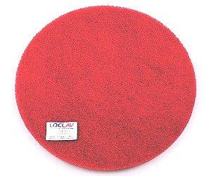 Disco abrasivo para limpeza vermelho 510 para enceradeira