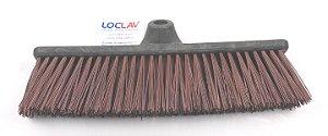 Vassoura 40 cm Nylon Reforçada
