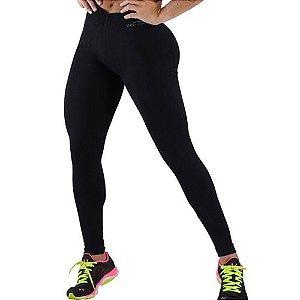 Calça Legging Fitness Sem Costura Preta