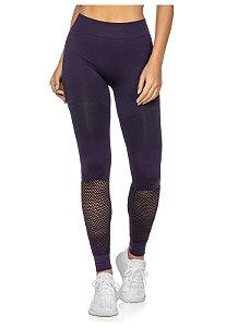 Legging Fitness Sem Costura Highlight Roxa - 6003