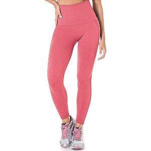 Legging Fitness Modeladora Sem Costura Rosa - 0500