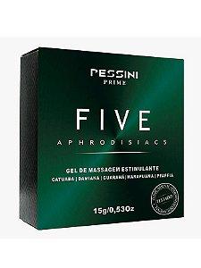 Excitante Unissex Five Afrodisíaco 15g - hot50