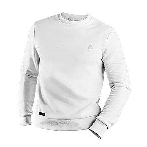 Suéter moletom careca Branco Jon Cotre – Unissex Infantil