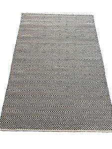 Tapete Chevron Lã Acrílica 0,70 X 1,60