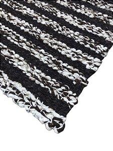 Tapete Listrado Bouclê de lã /Pilus 10 mm 1,50 X 1,50