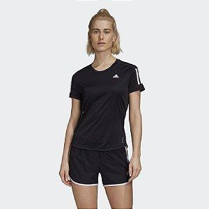 Camiseta Adidas Own The Run TEE Black